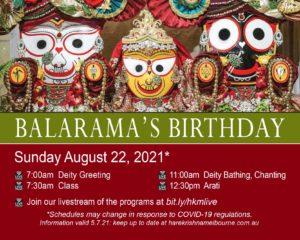 Balarama Purnima